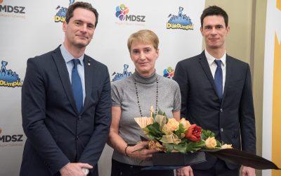Molnárné Bácskai Rita tanárnő elismerése