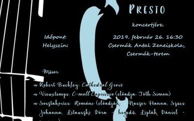 Lovassy Kamarazenekar koncertje