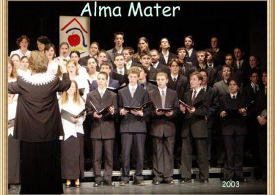 2003. Alma Mater