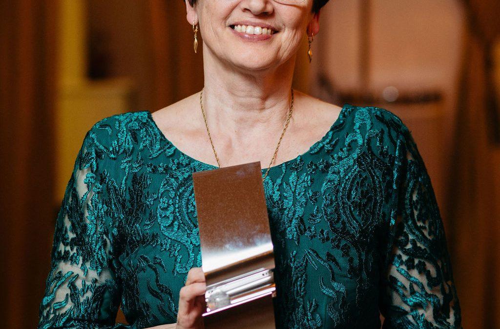 Szalainé tanárnő MOL Mester-M díjas