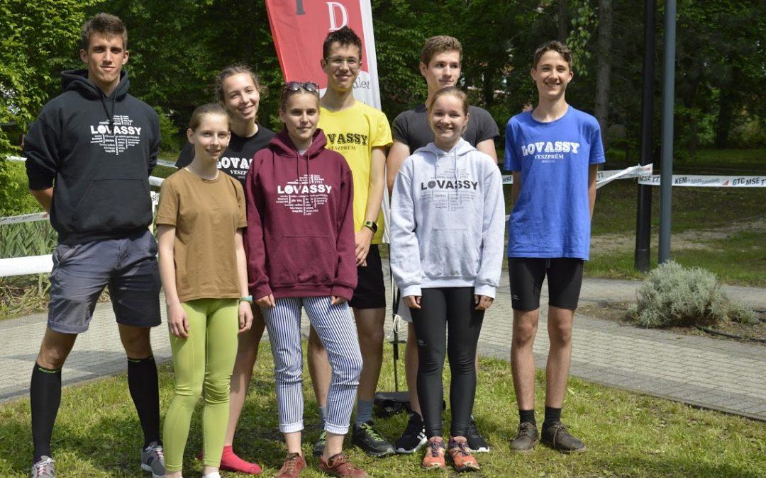 Tájékozódási futás diákolimpia eredmények