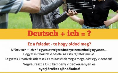 Deutsch+ ich=? – felhívás videóversenyre