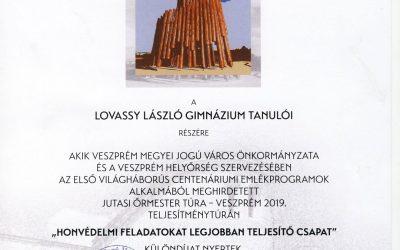 Veszprém város támogatása