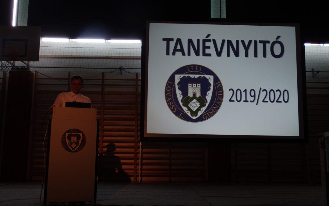 Tanévnyitó – 2019.