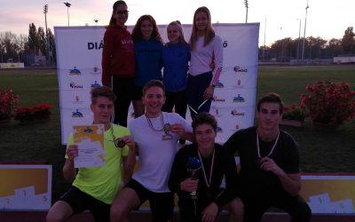 Atlétika Diákolimpia eredmények