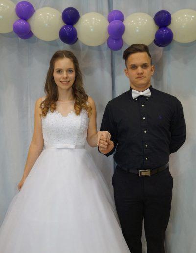 Pethő Tamara és Balázs Levente