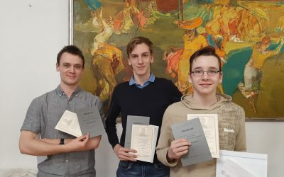 Dusza Árpád programozói verseny 3. hely