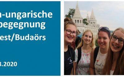 Német-magyar ifjúsági találkozó – 2020