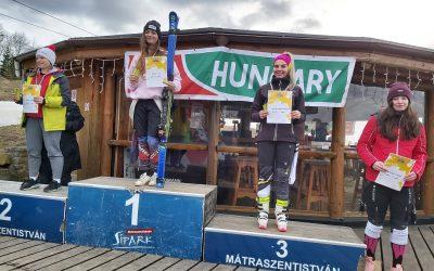 Polányi Lili diákolimpia 1. helyezett