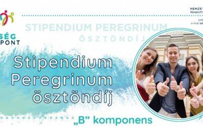 Stipendium Peregrinum-ösztöndíj