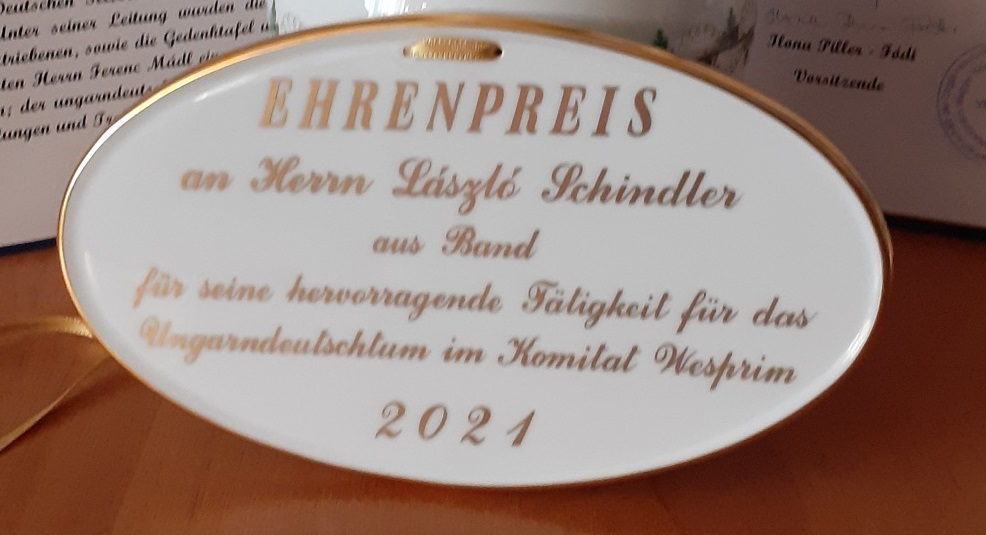 Német nemzetiségi díjazottak